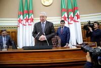 في 9 إبريل عام 2019 تم تكليفه بمنصب الرئيس المؤقت للجزائر خلفًا لعبد العزيز بوتفليقة الذي قدم استقالته من المنصب