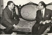 استمر في حكم العراق إلى أن توفي في حادث طائرة غامض مع عدد من الوزراء بالبصرة في 13 أبريل 1966