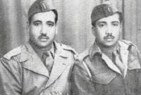 التحق بالكلية العسكرية وتخرج منها عام 1941