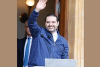 """قال في كلمته """"أنا سأقول لكم الحمد الله على سلامة لبنان والحمد الله على لبنان واللبنانيين. أنا باقٍ معكم وسأكمل معكم، باقون سويًا وسنكمل سويًا لنكون خط الدفاع عن لبنان واستقراره وعروبته"""""""