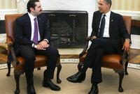 صورة تجمعه بالرئيس الأمريكي السابق باراك أوباما