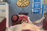 والده الأمير خالد بن طلال كان يزوره بشكل مستمر حين كان في المستشفى مؤكدًا أمله في إفاقته وعودته مرة أخرى للحياة بشكل طبيعي
