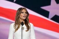 """أثارت ميلانيا الجدل مرة أخرى بعد نسخها خطابًا ألقته في مؤتمر للحزب الجمهوري من خطاب السيدة الأولى السابقة """"ميشيل أوباما"""" عام 2008"""