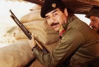 اتهمه الكثيرون بأنه سفاح وديكتاتور وبتسببه في إبادات جماعية واستخدام أسلحة كيميائية محظورة دوليًا في عدد من مداهماته تجاه خصومه أبرزهم الأكراد وتركمان العراق