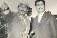 مع الرئيس المصري أنور السادات