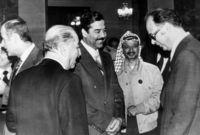 مع ياسر عرفات