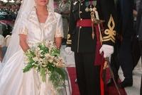 متزوجان منذ عام 1993 وتم تتويجهما كملك وملكة للأردن عام 1999 بعد وفاة والده الملك حسين