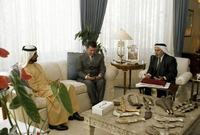 لقطات لزفاف حاكم دبي والأميرة هيا في منزل العروس عام 2004 وبحضور شقيقها الملك عبد الله بن الحسين وقرينته