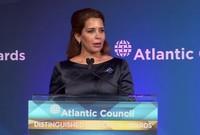أول امرأة عربية وأول سيدة تصبح سفيرة للنوايا الحسنة لبرنامج الأغذية العالمي التابع للأمم المتحدة