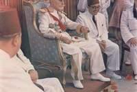 عين الأمين باي وليًا للعهد في بداية فترة حكم المنصف باي وذلك خلال الحرب العالمية الثانية
