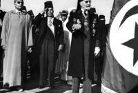 في ٣ أغسطس عام 1956 أجبره الحبيب بورقيبة عن التنازل عن ممتلكاته للدولة، بعد استقلال تونس عن فرنسا في ٢٠  مارس ١٩٥٦