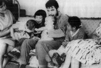 صورة مع عائلته