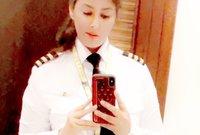 وتبلغ ياسمين الميمني من العمر 29 عام وبدأت مسيرتها مع الطيران منذ أن كان عمرها 19 عام