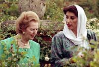 بعد اعتلائها لزمام السلطة باتت أول امراة تترأس الحكومة في دولة اسلامية في العصر الحديث