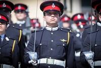 ظهر الأمير بهذا الشكل عالميًا بعد تخرجه من أكاديمية ساندهيرست العسكرية عام ٢٠١٧