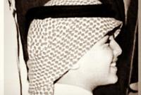 الشيخ خالد القاسمي في طفولته