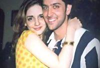 صورة مع زوجته