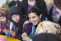 تم تعيينها كسفيرة للنوايا الحسنة لحقوق الأطفال من قِبل منظمة الإغاثة في الأمم المتحدة