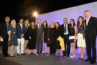 حضر حفل التخرج عدد من الشخصيات الهامة بينها ممثلًا عن الرئيس الفلسطيني محمود عباس وعدد من سفراء فلسطين في فرنسا