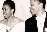 كانت زوجته ميشيل من أنجح وأشهر سيدات أمريكا الأولى خلال فترة حكمه وكانت السيدة الأولى الأكثر شعبية منذ جاكلين كينيدي زوجة الرئيس جون كينيدي حيث كانت حاضرة بقوة في المشهد الاجتماعي والسياسي الأمريكي