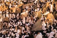 وعندما يقف الحجاج في عرفات ينتصب أمامهم مسجدة «نَمرة»، وهو جبل نزل به النبي صلى الله عليه وسلم يوم عرفة في خيمة