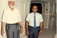 وفي الـ 8 من أغسطس عام 2005 توفي عن عمر يناهز السابعة والثمانين عامًا بمنزله وهو يستمع إلى القرآن