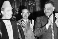 صور للملك محمد الخامس مع الرئيس الراحل جمال عبد الناصر