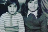 هدي حسين مع شقيتها سعاد