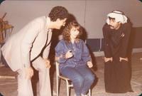 """شاركت في مظاهرات ضد النظام العراقي بسبب غزو العراق للكويت، بعدها قدمت مسرحية """"عرب 2000"""" التي كانت تندد بالغزو، وأكدت حينها أنها تخلت عن جنسيتها العراقية حبًا للكويت"""