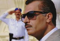 """لقطة من دوره في مسلسل """"الجماعة"""" الذي أدى فيه شخصية الزعيم الراحل جمال عبدالناصر"""