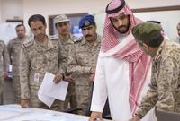وزير الدفاع وقائد القوات المسلحة السعودية الحالي هو الأمير محمد بن سلمان آل سعود ولي العهد