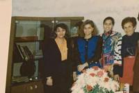 تقيم مع شقيقتها رغد في ضيافة المملكة الأردنية الهاشمية وتتمتع بنفس المميزات التي توفرها المملكة لشقيقتها من منزل خاص وراتب شهري ثابت