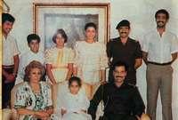 ثم انتقلت للعيش في قطر مع ابنتها الصغرى حلا حيث وفرت لهما السلطات القطرية منزلًا خاصًا ونفقة شهرية ثابتة منذ قدومهما إلى هناك