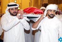 صورة من تشييع الجثمان