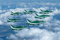 كما ستتزين سماء العاصمة بطائرات حربية لفريق الصقور السعودية بشارع الأمير تركي بن عبدالعزيز الأول في 23 سبتمبر في الساعة 04:30 عصراً