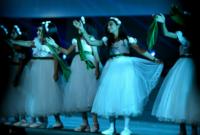 كما تم السماح للنساء بالمشاركة بالأعمال المسرحية لأول مرة في تاريخ المملكة
