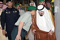 استمر اللواء عبد العزيز الفغم لمدة 10 سنوات في العمل كحارس شخصي للملك عبد الله بن عبد العزيز حتى توفاه الله