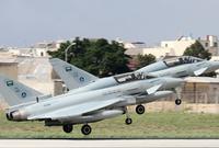 كما تملك ما يقارب الـ 72 مقاتلة من نوع تايفون أقوى المقاتلات الجوية الأوروبية