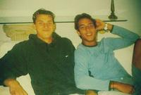 يقول زلاتان: «كنت أنا ولاعب مصري آخر أسمه أحمد حسام ميدو، كان قادما من بلجيكا، حيث حقق نجاحا كبيرًا، سريعا انتشرت سمعتنا في كافة الصحف على أننا مجانين»
