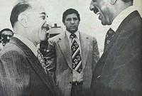 كما وضع الرئيس العراقي أحمد حسن البكر مبلغ 7 ملايين جنيه استرليني تحت تصرف الحكومة المصرية