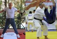 ويحرص بوتين على القيام بتمارين رياضية بشكل مستمر من أجل الحفاظ على ليقاته البدنية التي تجعله مؤهلًا لممارسة رياضة الجودو