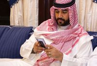 الأمير فيصل بن بندر بن سلطان بن عبد العزيز في العزاء