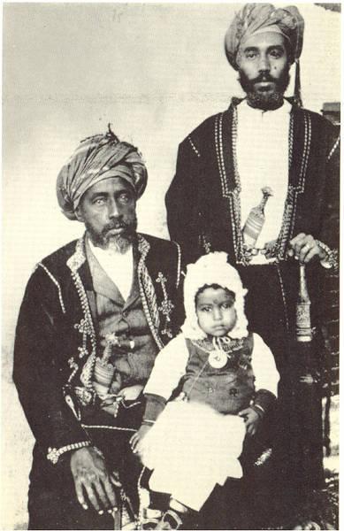 سعيد بن تيمور سلطان عمان السابق الذي ولد عام 1910 بمسقط في سلطنة عمان