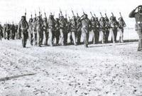 كما اشتركت القوات السعودية في القتال على الخطوط الأمامية في غزة والمجدل. ودير سنيد. وأسدود جنبًا إلى جنب مع القوات المصرية