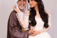 في عام 2010، تزوجت الممثل والمنتج الإماراتي د. حبيب غلوم، الذي يكبُرها بعشرين عامًا، كما أنها وافقت على أن تكون الزوجة الثانية له، لإبقائه على زوجته الأولى في عصمته وله منها أبناء