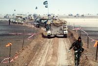 هي حرب بدأت مطلع عام 1991 لتحرير الكويت حيث عارضت المملكة تلك الحرب بشدة وقامت بحشد 200 ألف جندي سعودي