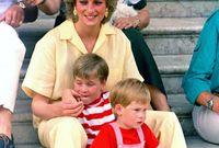لم تسمح الأميرة ديانا ولو لمرة واحدة أن تخفي حبها عن أولادها، وكانت دائماً وأبداً تفصح عن مخالفة قواعد البيت الملكي