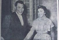 تزوجت من الأمير طلال بن عبد العزيز عام 1954 في حفل زفاف حضره كبار رجال السياسة في المملكة ولبنان لتكتسب منى الصلح لقب أميرة