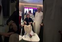 ظهرت قبل فترة في إحدى المناسبات التي حضرتها مع ابنها الأمير الوليد بن طلال