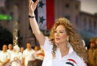 وقالت رغدة إنها ستصف بشار الأسد بـ «الخائن» إذا تنحى عن الحكم